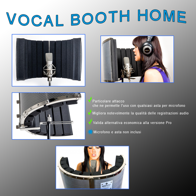 Vocal Booth Home